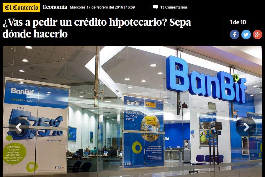 Creditos hipotecarios banco gnb - Pedir un prestamo hipotecario ...